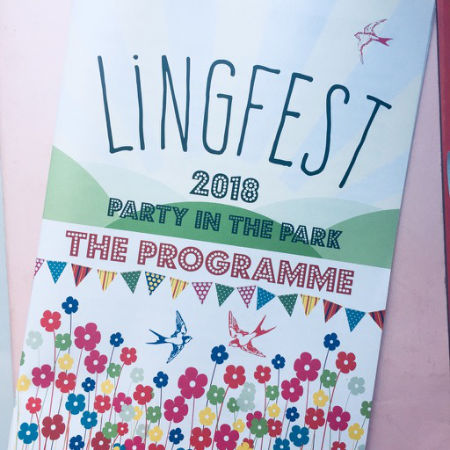 2018 Lingfest Programme cover