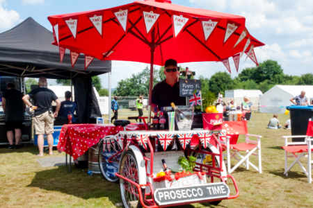 Fizz Tent - Pimms and Prosecco